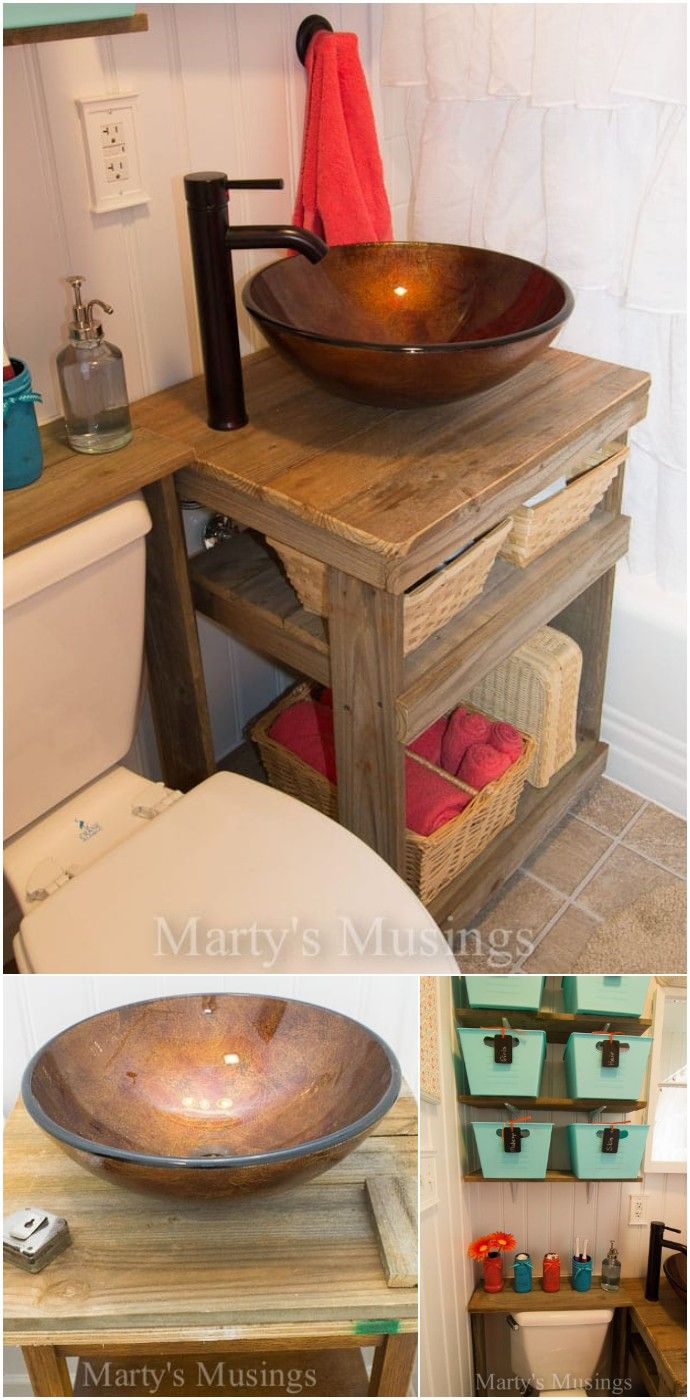 Photo of DIY Bathroom Vanity Makeover Ideas And Free Plans