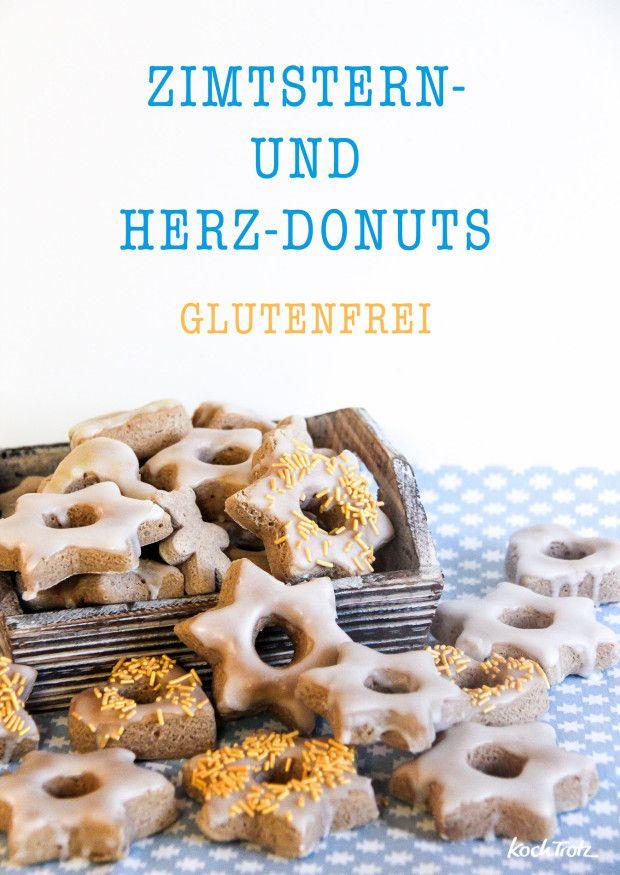 winterliche zimtstern donuts aus dem backofen glutenfrei auch f r kenwood cooking chef. Black Bedroom Furniture Sets. Home Design Ideas