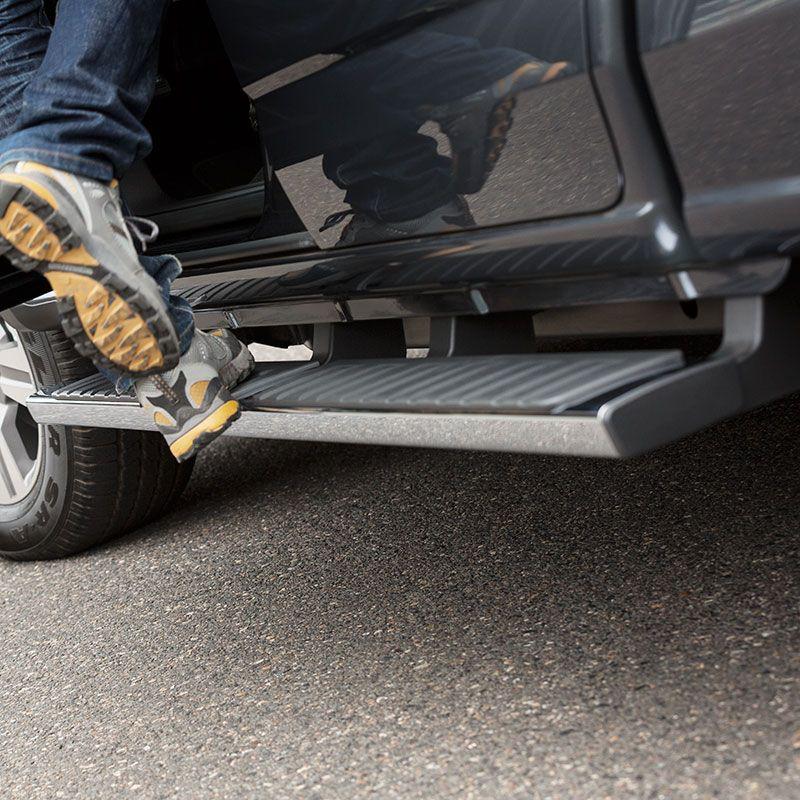 2015 Suburban Assist Steps Chrome Rectangular Set Of 2 84112237 Chevrolet Accessories Yukon Denali Chevrolet