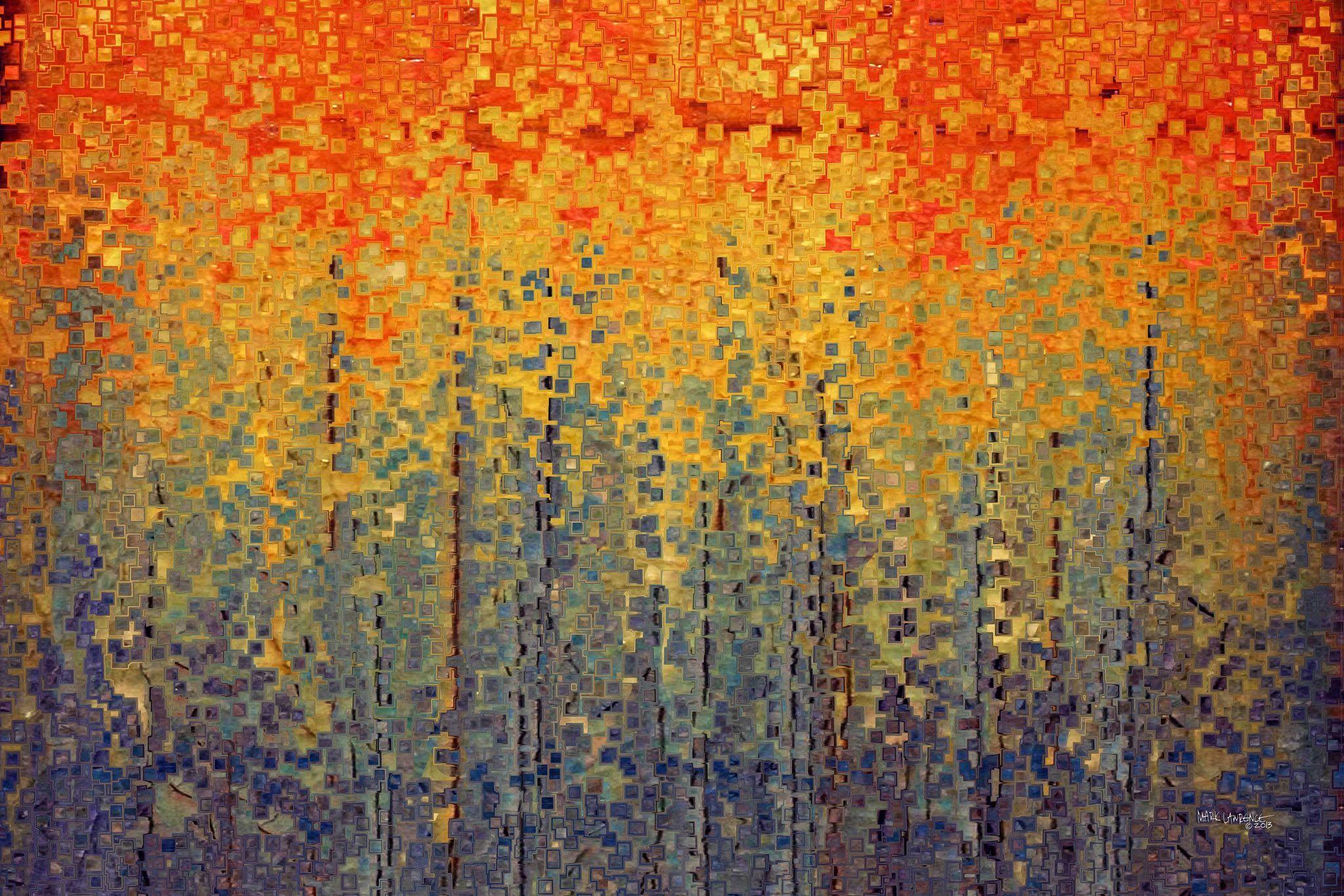 Christian Art Psalm 119 10. Wander Modern Abstract Painting