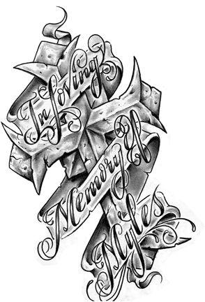 In Loving Memory Tattoo Drawings : loving, memory, tattoo, drawings, Looking, Ink!!!