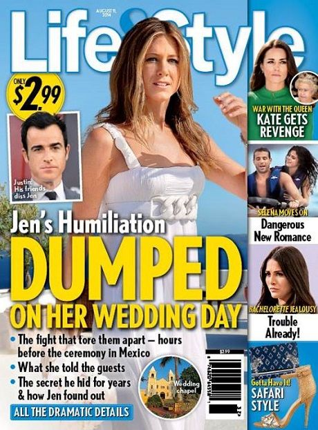 Jennifer Aniston Dumped By Justin Theroux On Wedding Day In Cabo Jennifer Aniston Marley And Me Justin Theroux