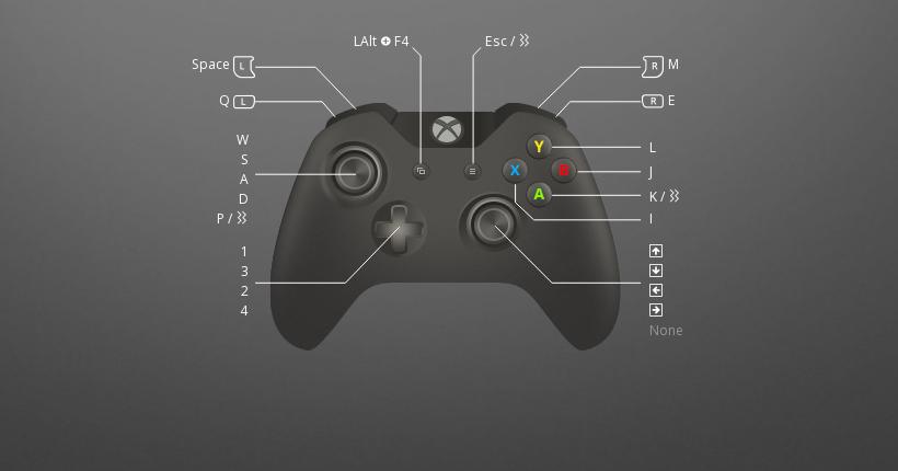 My custom DMC 3 Xbox 360 controller preset: added some rumble