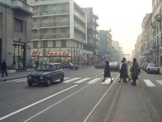 Corso Vercelli 1987. La mia prima auto era così