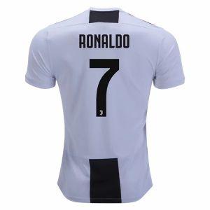 ca6a7df6a 2018-19 Player Version Ronaldo Jersey Juventus Home White Shirt [CFC371]