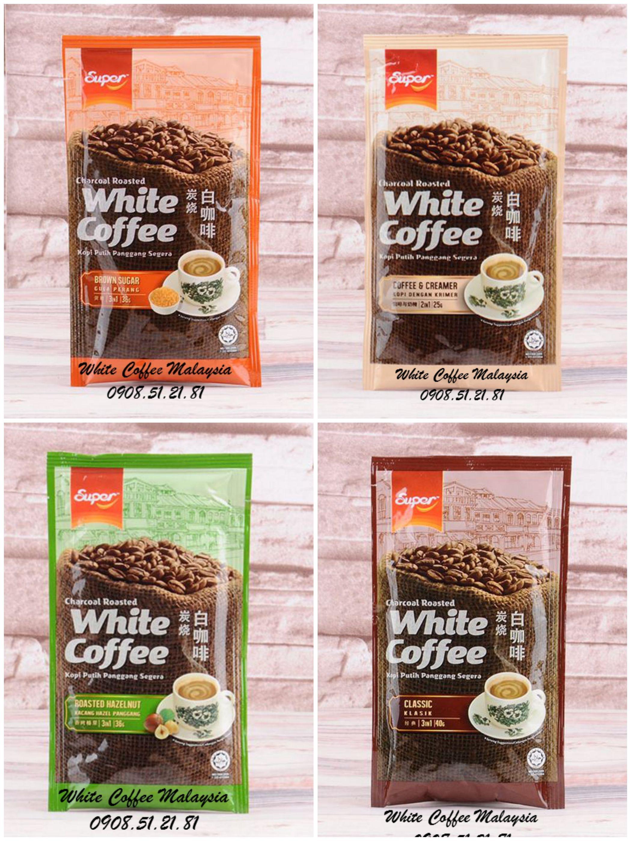 gói nhỏ super cafetrang (Có hình ảnh) Cà phê trắng, Cà phê
