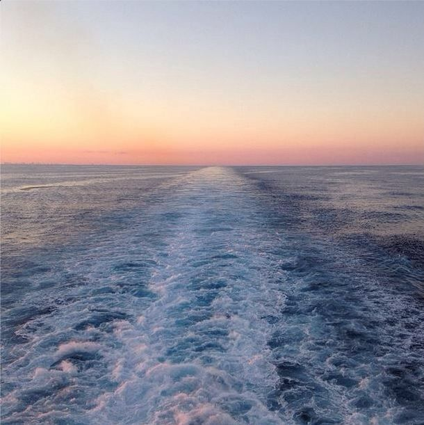 Peaceful Places In Hawaii: Watch The Sun Set Over The Ocean From The Aft Deck