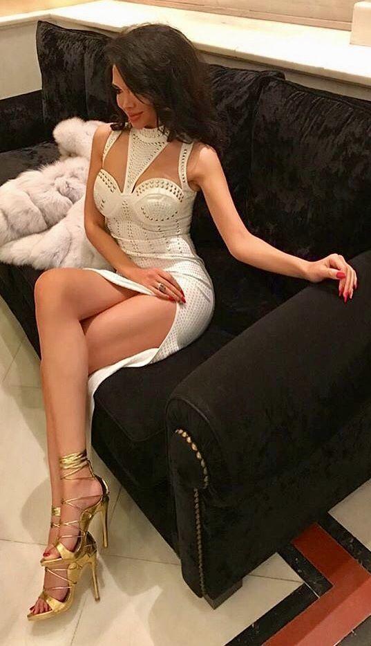 Very Classy Sexy Crossed Legs