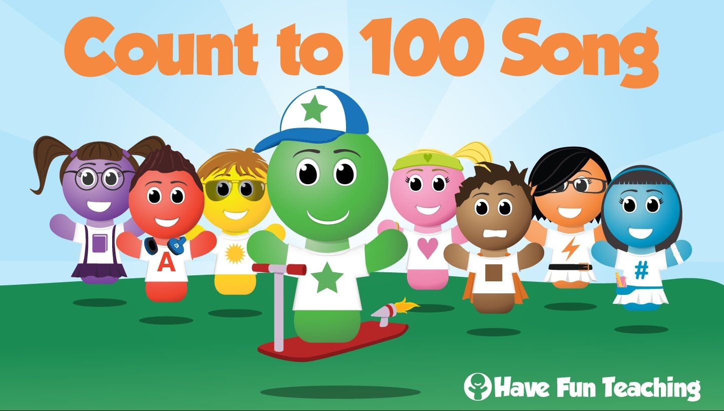 This Is The Count To 100 Song By Have Fun Teaching This Counting