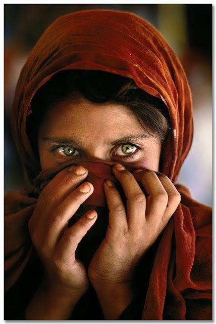 Niña afgana. Pakistán 1984. © Steve McCurry