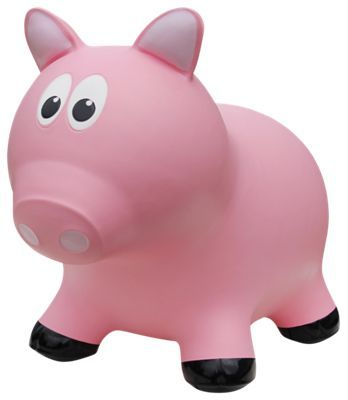 Farm Hoppers Pink Pig Bounce Toy for Toddlers in 2018 Products