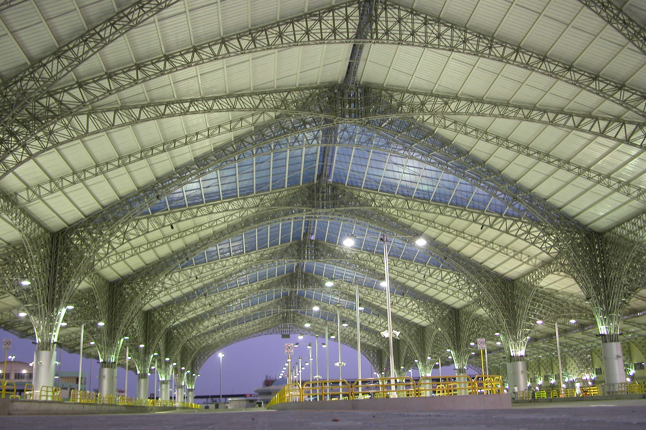 At The Baston Popular Terminal At Guayaquil Ecuador Our Blue