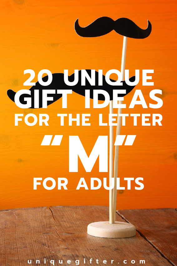 Gift Ideas For The Letter M For Adults Unique Gifter Christmas Gift Inspiration Birthday Gifts For Sister Inspirational Gifts