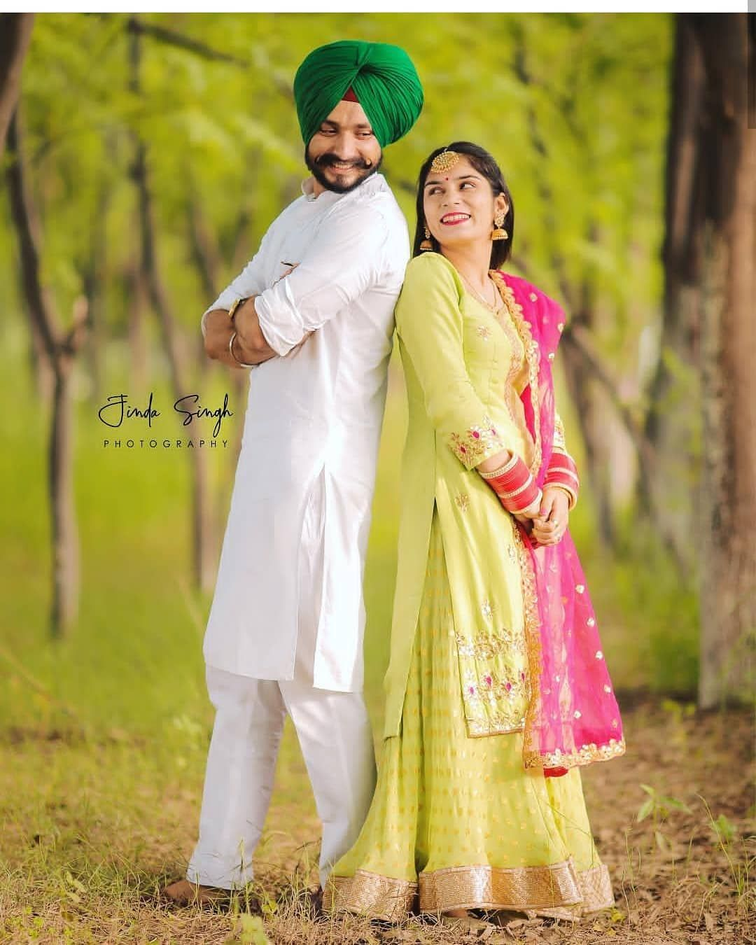 very cute punjabi couple