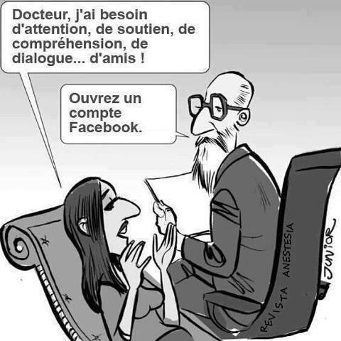 Facebook Va T Il Mettre Nos Psy Au Chomage Humour Drole Images Droles Humour