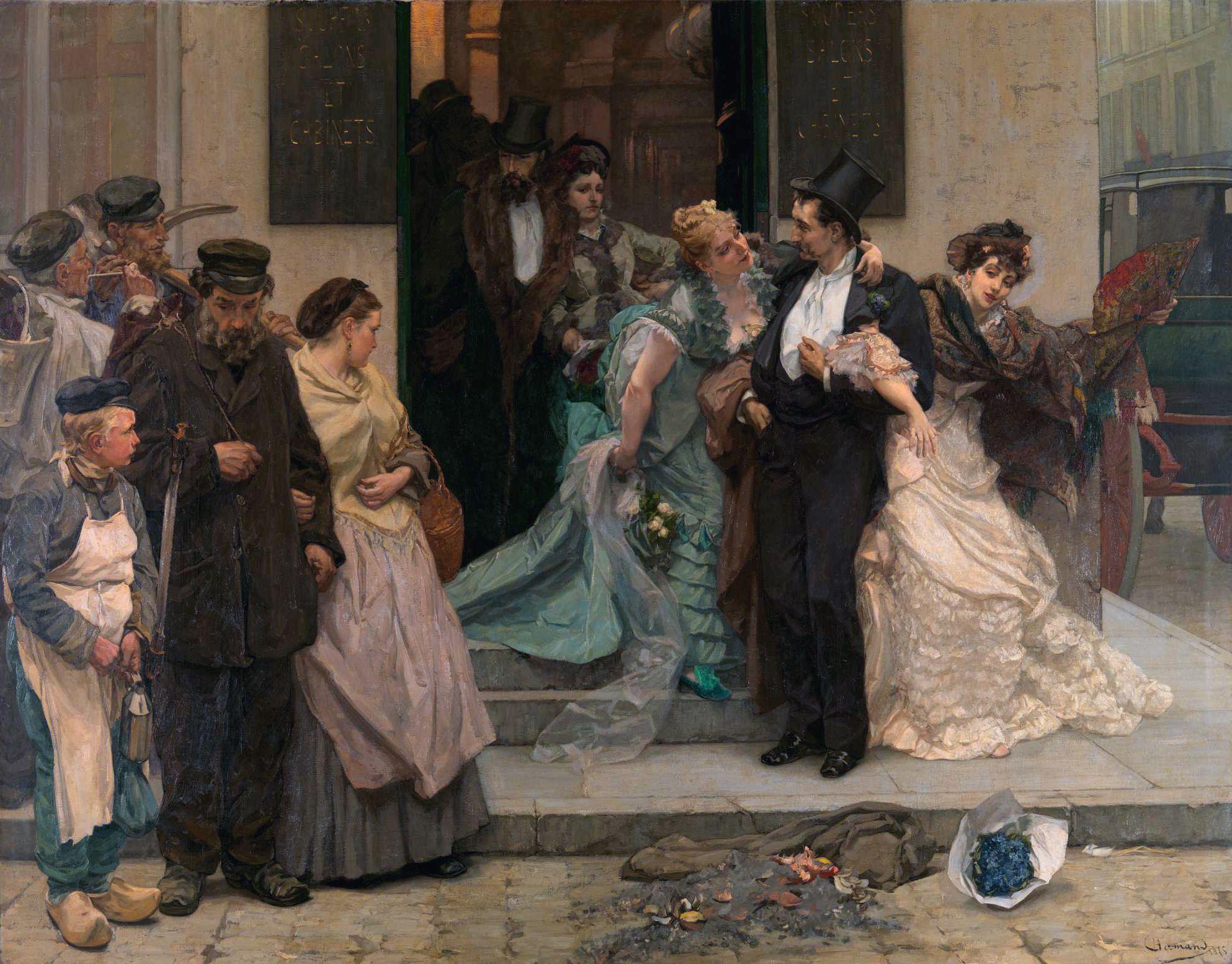 PEINTURE DE CHARLES HERMANS........1875.......L'AUBE.....SOURCE WIKIMEDIA.ORG.............