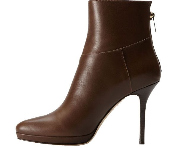 Ebay Jimmy Choo Acton Brown Leather Ankle Boots Leisure 41f809a7