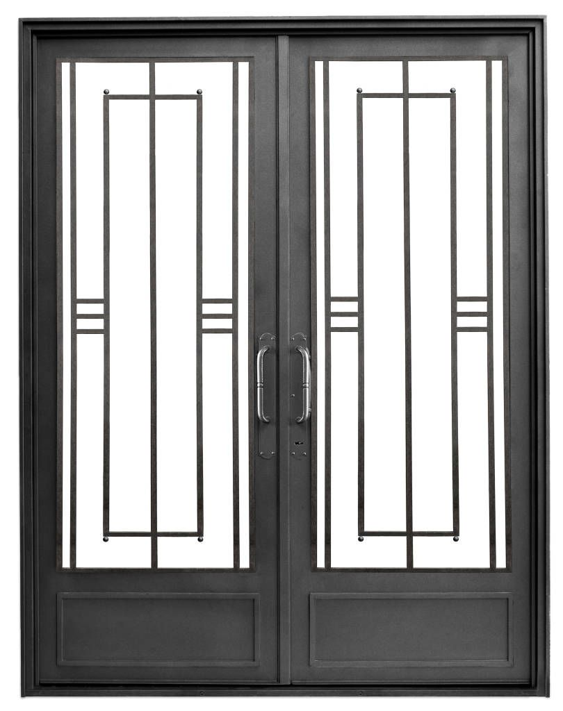 Im genes de decoraci n y dise o de interiores puertas de for Fotos de puertas de hierro