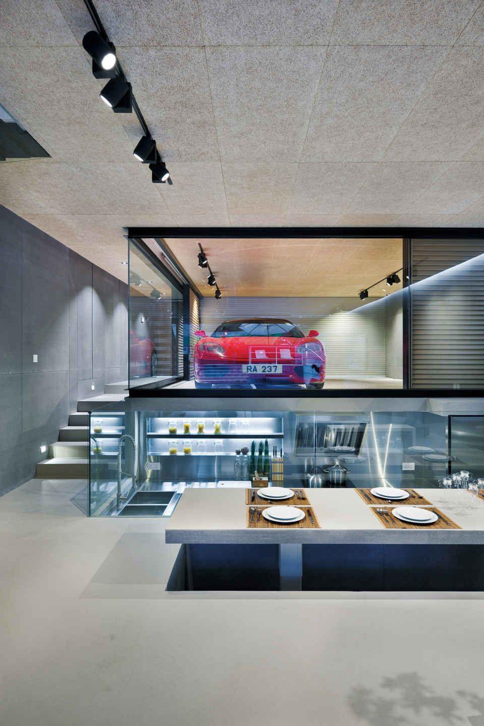 22 Luxurious Garages Perfect For A Supercar Garage Design Garage Interior Modern House Design