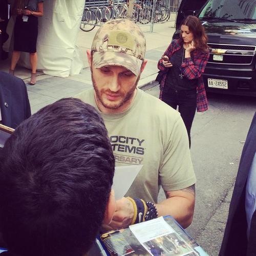 Tom Hardy - Sept. 6th 2014 - Toronto