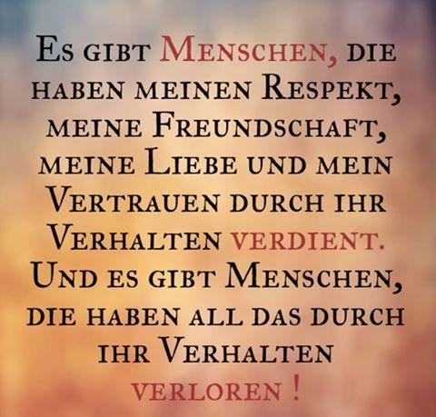 sprüche respekt Respekt verdient.. | spruche | Pinterest | Motivation, True words  sprüche respekt