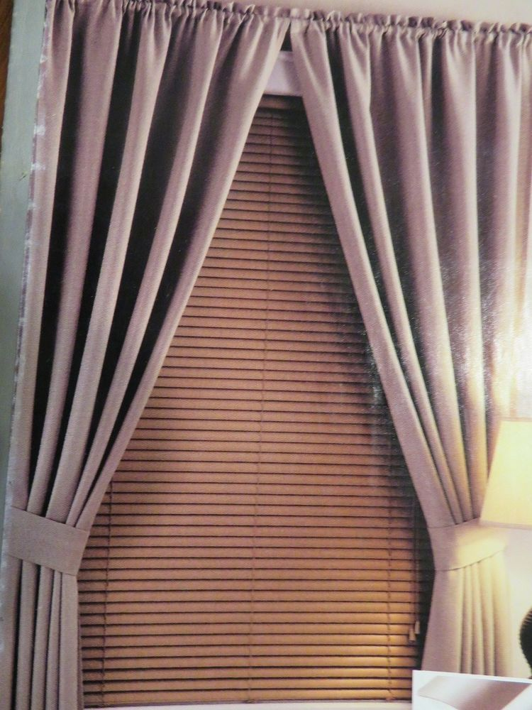 Window Mini Blinds Cordless Room Darkening 1 In Slat Khaki Vinyl 27