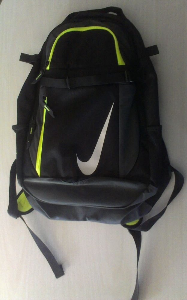 9508b33b2c86f UNISEX NIKE BSBL VAPOR BOOK BAT PACK BLACK ANTHRACITE W COLD STORAGE POCKET   Nike  Backpack  INSTOCK