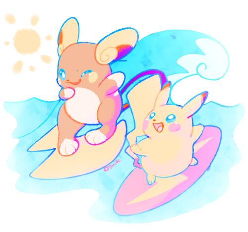 Alola raichu pokemon