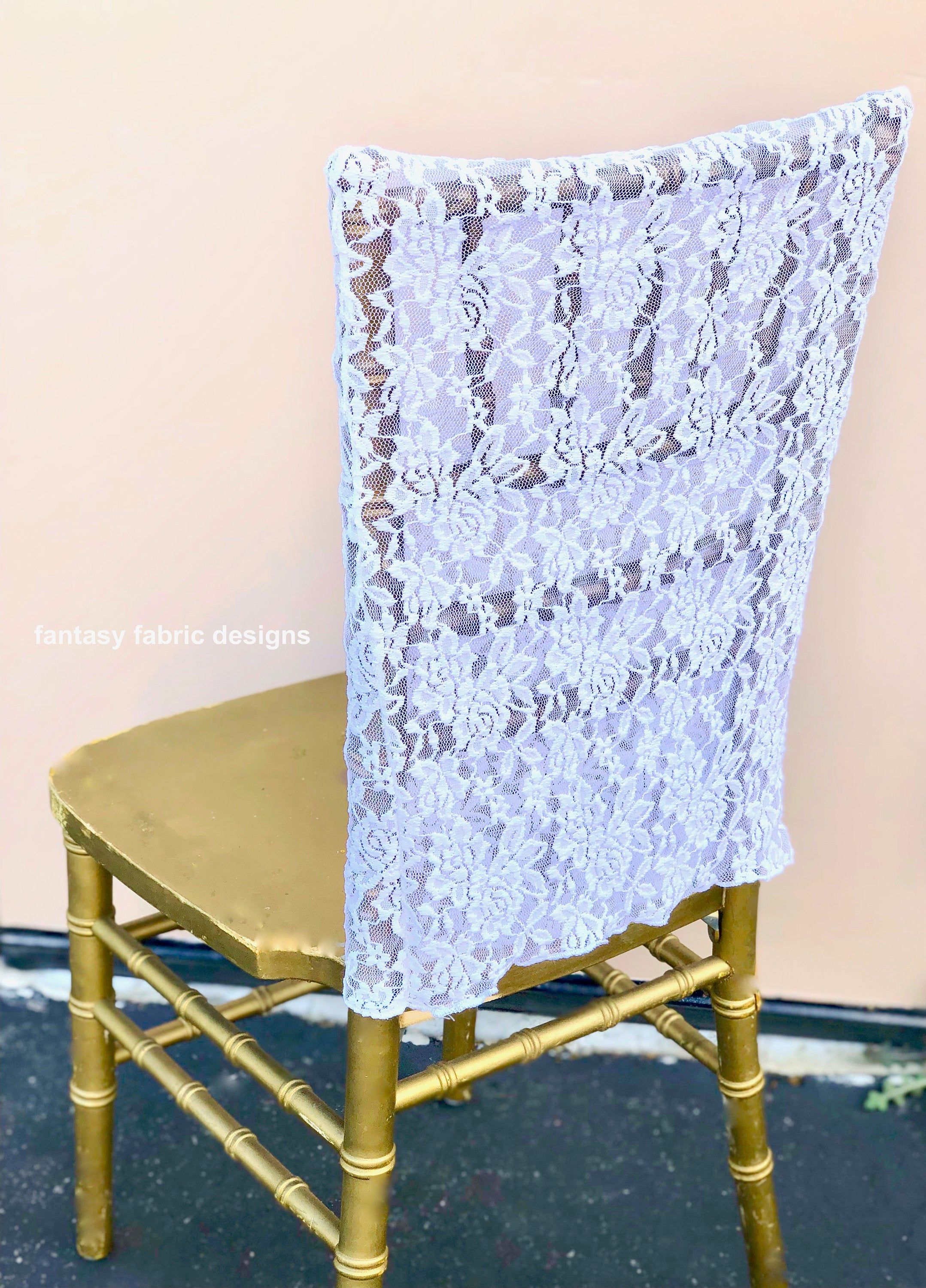 Stupendous Lace Chair Cover Wedding Decor Wedding Chair Covers Unemploymentrelief Wooden Chair Designs For Living Room Unemploymentrelieforg