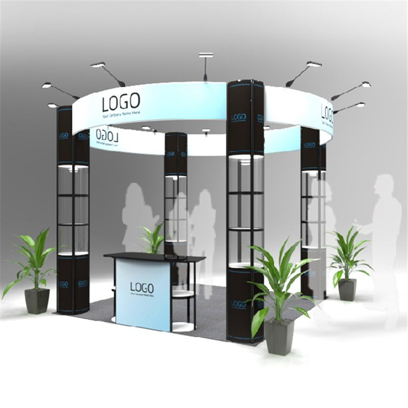 Exhibition Stand Round : Standard ft exhibition booth round trade fair