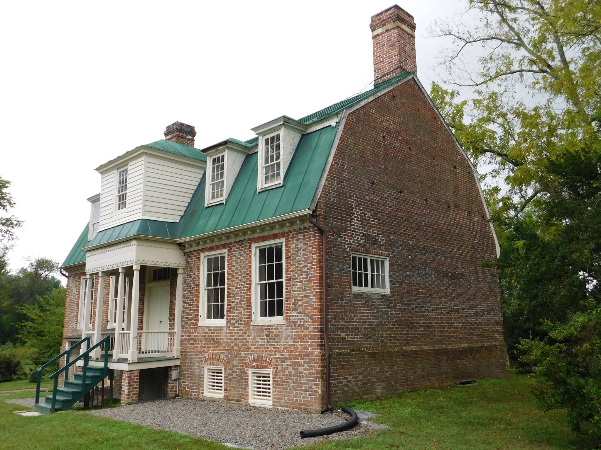 Rural Plains Shelton House Hanover County C 1725