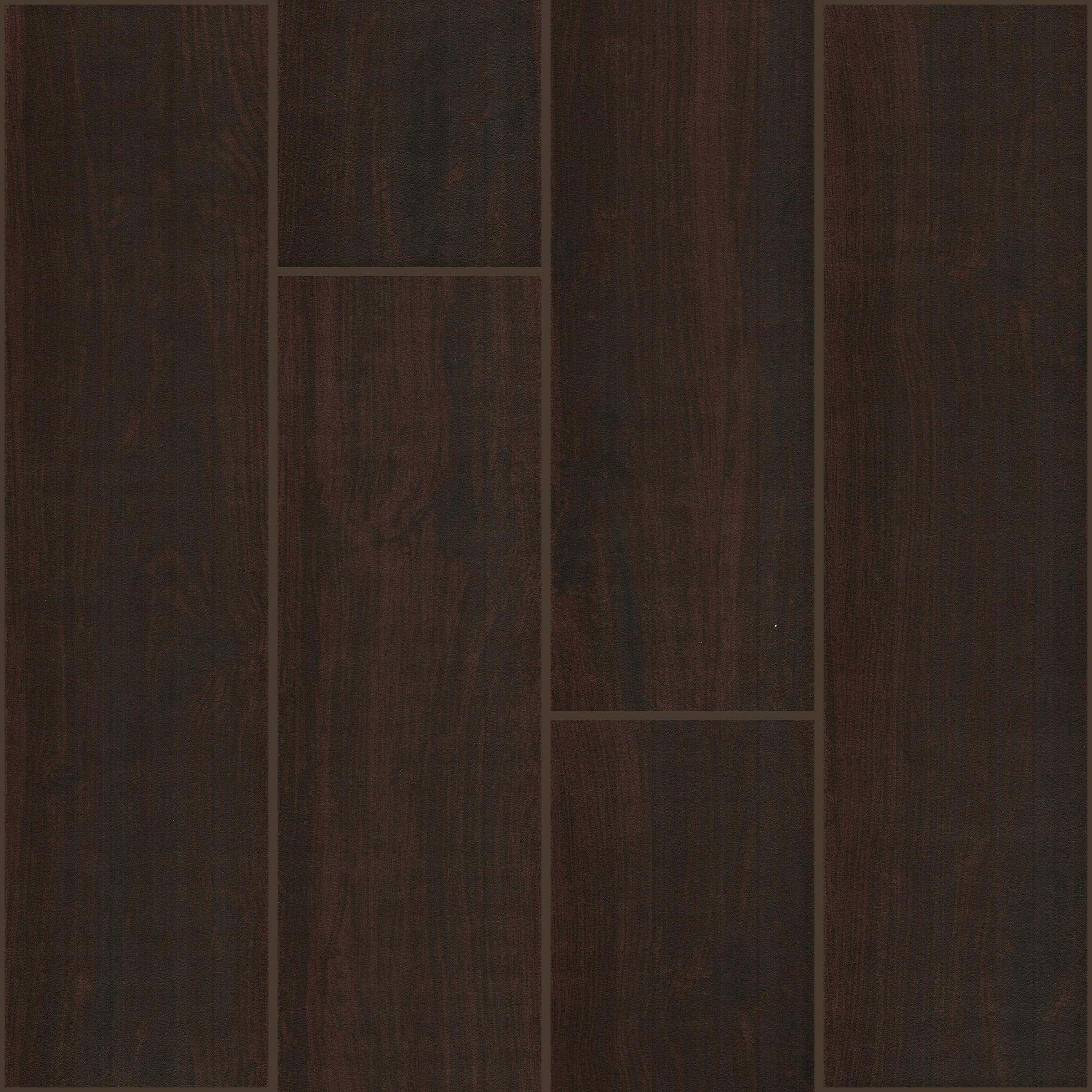 Florim Black Walnut 6 X 24 Wood Look Porcelain Tile Brown