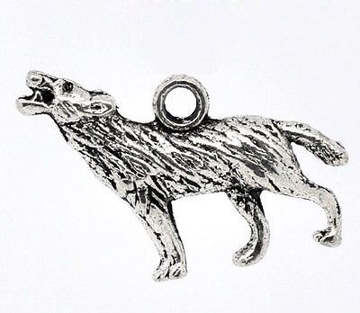 "50 New Charm Pendants Deer Animal Silver Tone 24mmx19mm 1/""x6//8/"""