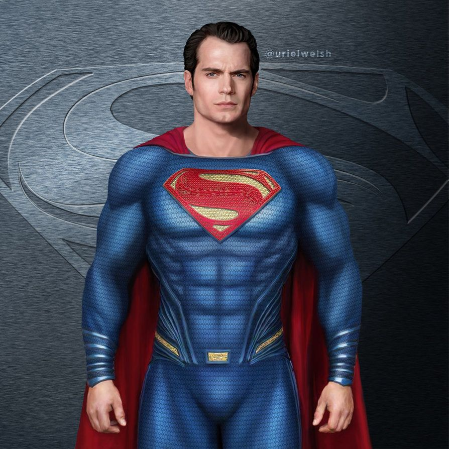 The Man Of Steel 2 By Urielwelsh Superman Man Of Steel Superman Henry Cavill Dc Comics Superman