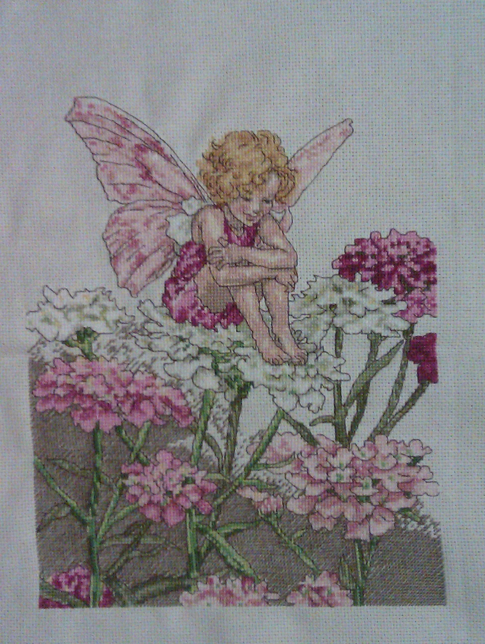 Flower fairies the candytuft fairy by dmc flower