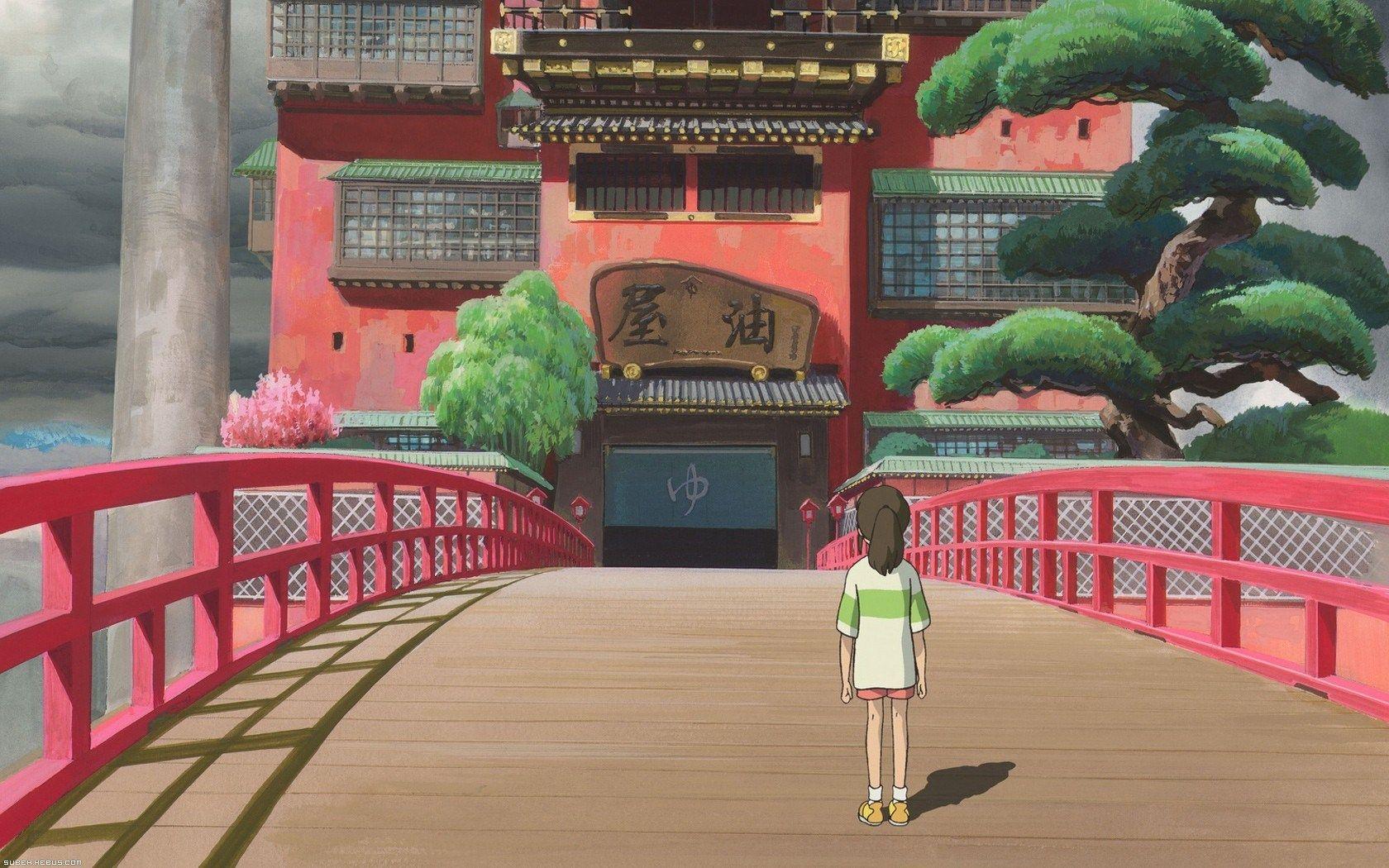 L'incarnation de la sensibilité japonaise (Miazaki, Le Voyage de Chihiro)