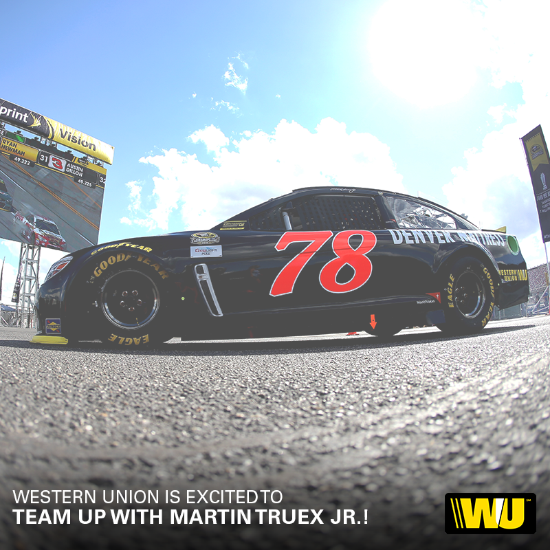Furniturerow Western Union The New Sponsor Going With Martin The