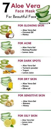 7 Aloe Vera face mask for radiant and beautiful skin