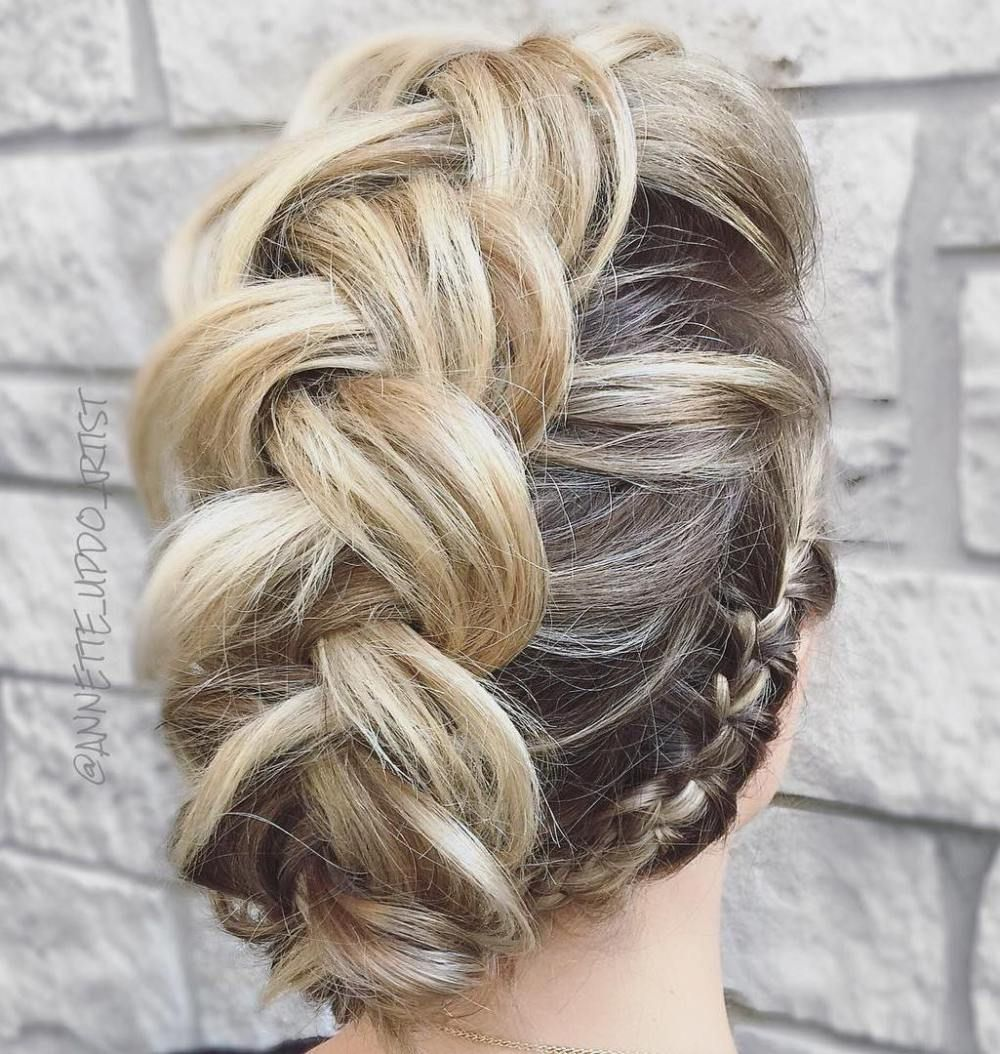 40 Gorgeous Braided Hairstyles For Short Hair Hair Styles Braids For Short Hair Braided Hairstyles
