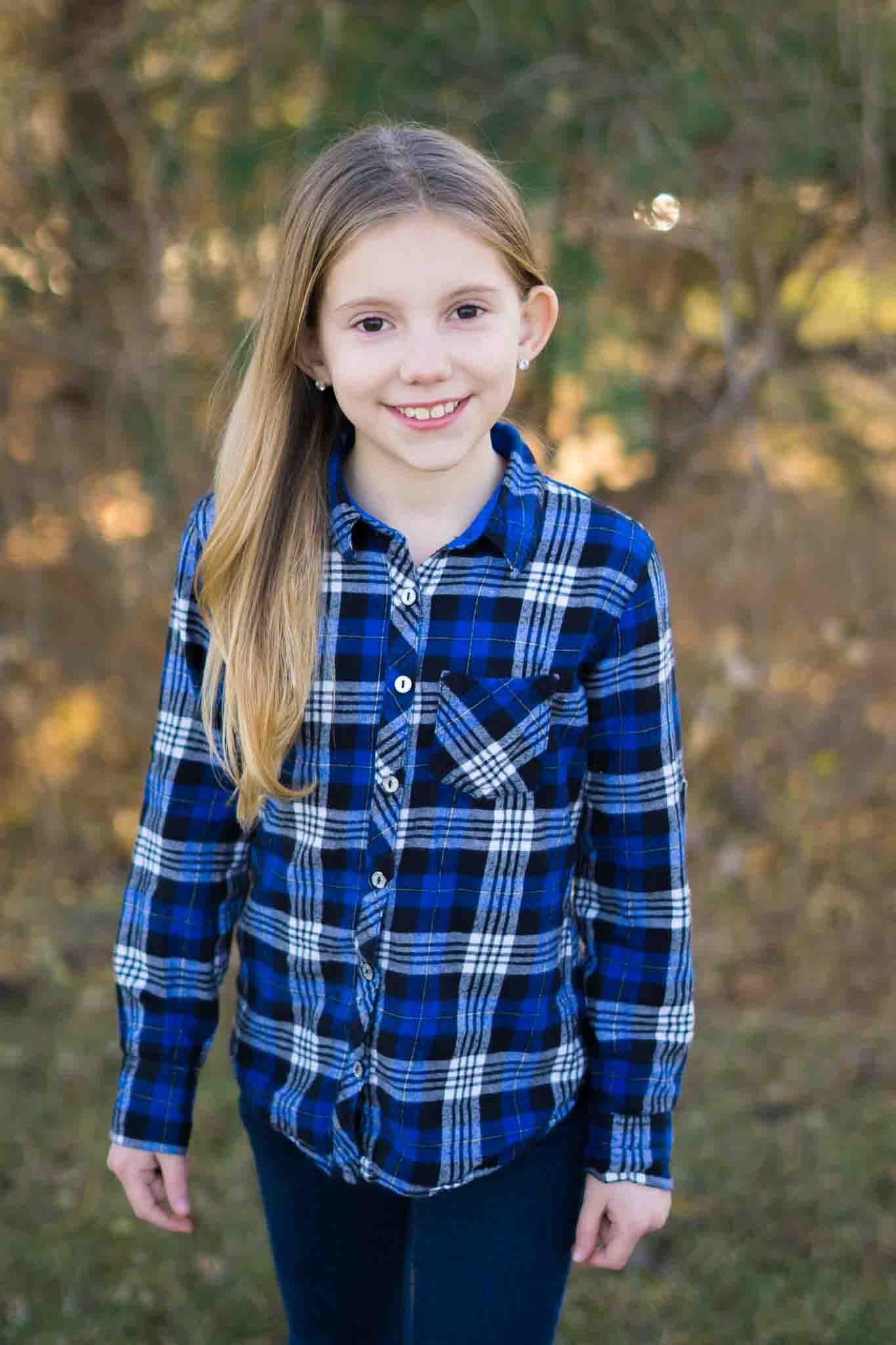 8 year old girl portrait portrait girl womens plaid