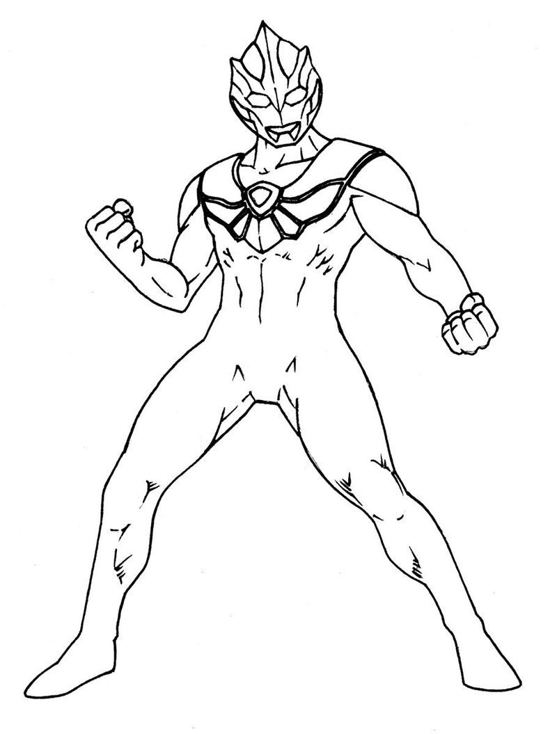 Ultraman Coloring Pages Pdf Print For Those Of You Who Are Movie Lovers Who Have A Super Hero G Coloring Pages Coloring Pages For Boys Coloring Pages To Print [ 1055 x 800 Pixel ]