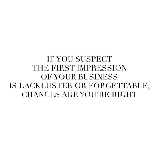 First Impression of Your Business - Jasmine Star Blog