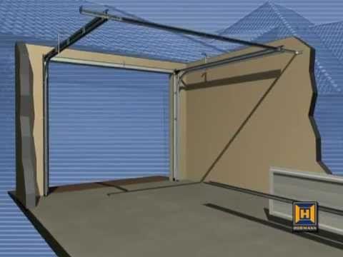 Video D Installation De Porte Laterale Hormann Youtube Basculante