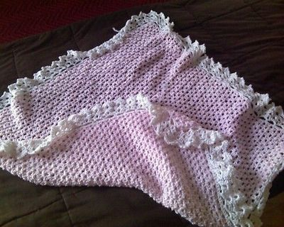 Bernatfreecrochetpatterns Border Baby Blanket Free Pattern