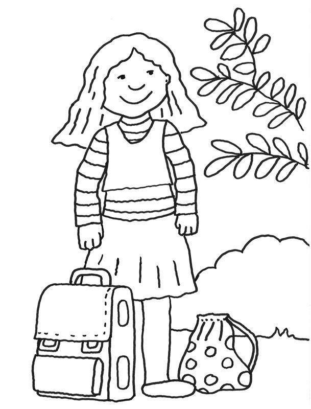 ausmalbilder einschulung – Ausmalbilder für kinder | Vorschule ...