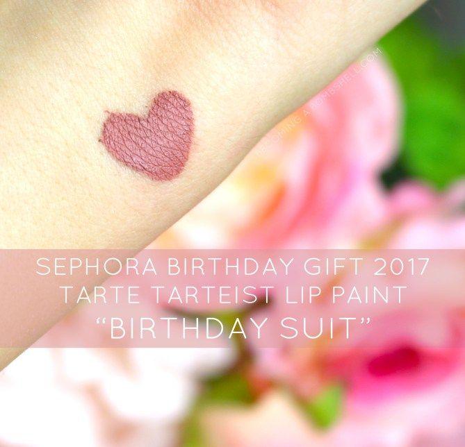 Sephora Beauty Insider Birthday Gift by Tarte #15