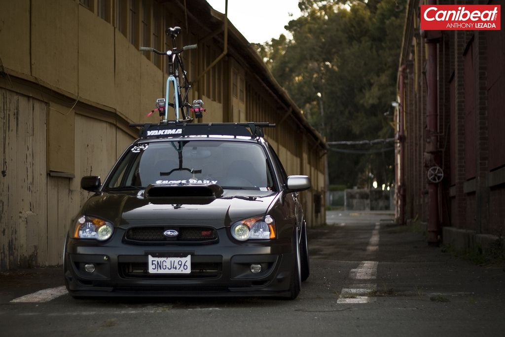Carbon Fiber Slammed Cars Wrx Subaru Cars