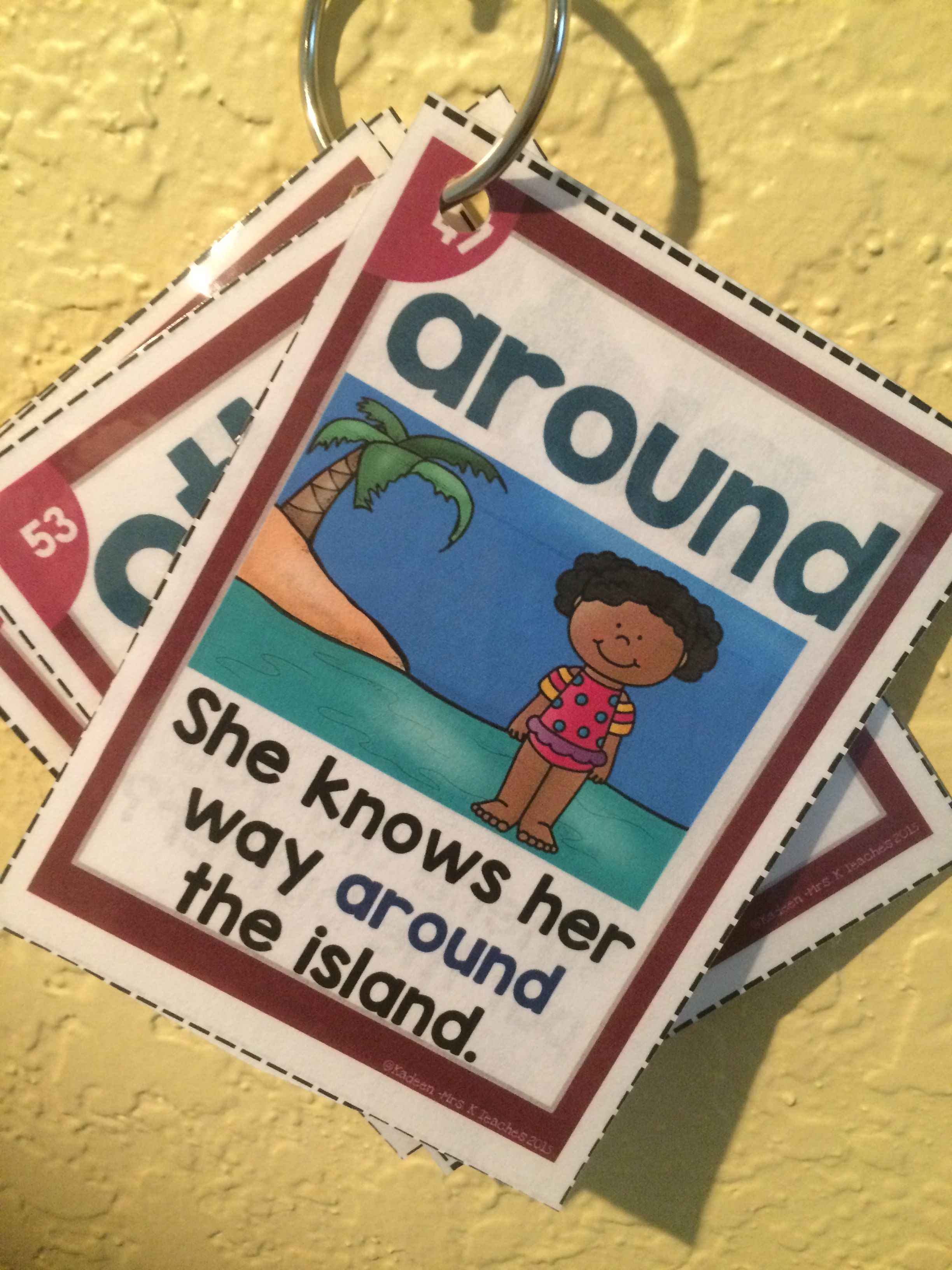 Sight Word Fluency Sentence Cards Bundle Small Cards