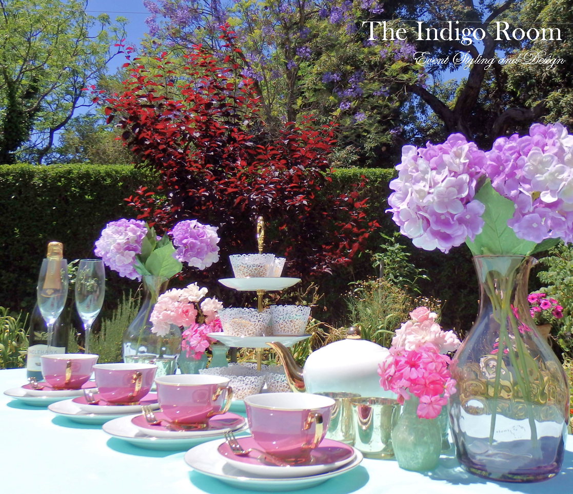 The Indigo Room Event Styling and Design High Tea - Table Setting & The Indigo Room Event Styling and Design: High Tea - Table Setting ...