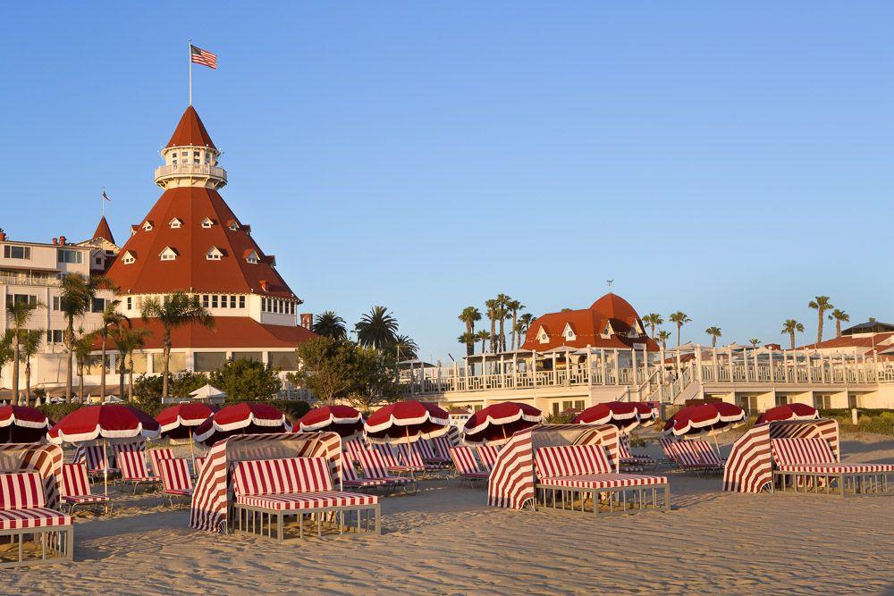 Del Beach Als At Hotel Coronado